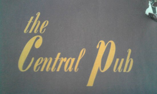 The Central Pub : L'insegna