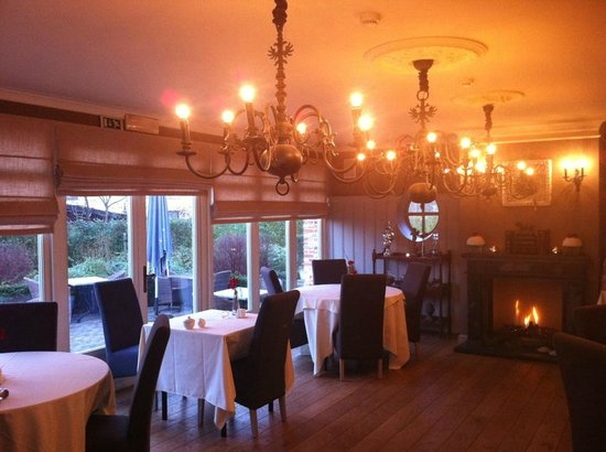 Charmehotel 'T Hemelryck: La salle du restaurant