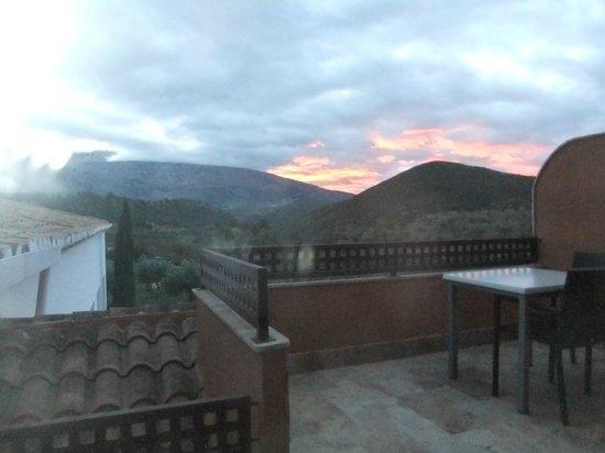 Hacienda Senorio de Nevada : Morning view