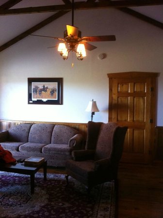 The Lodges at Gettysburg: Living Room Area