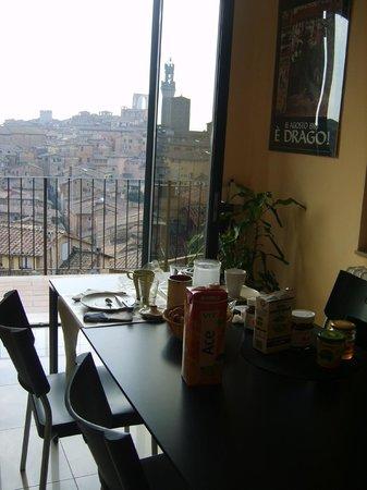 B&B Poggio Malavolti : Panorama dalla camera per la colazione