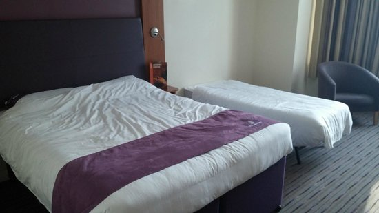Premier Inn Bournemouth East (Lynton Court) Hotel: Room 14.
