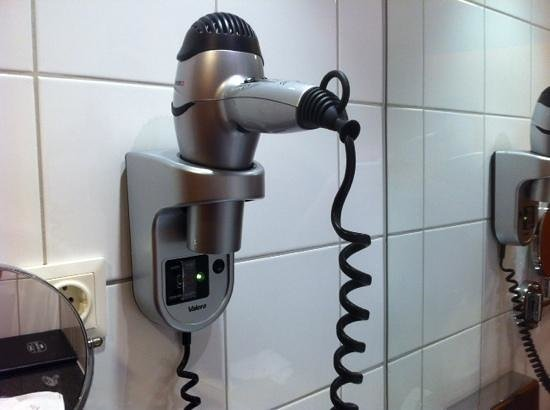 Courtyard by Marriott Vienna Schoenbrunn: love this hairdryer