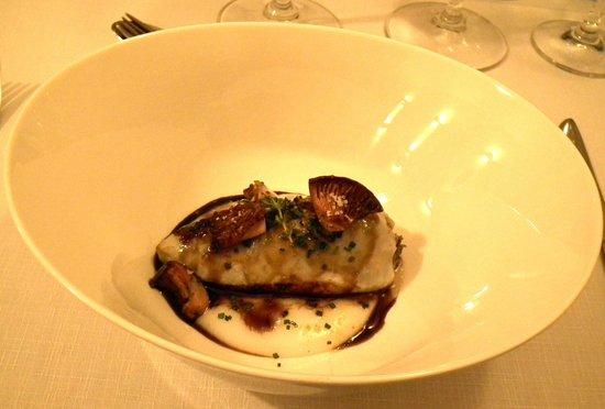 Vicus Restaurant : Gevulde inktvis paddestoelen