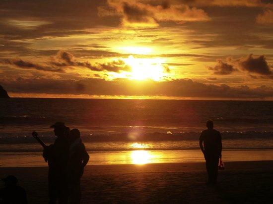 Hotel Villabosque: La playa al atardecer