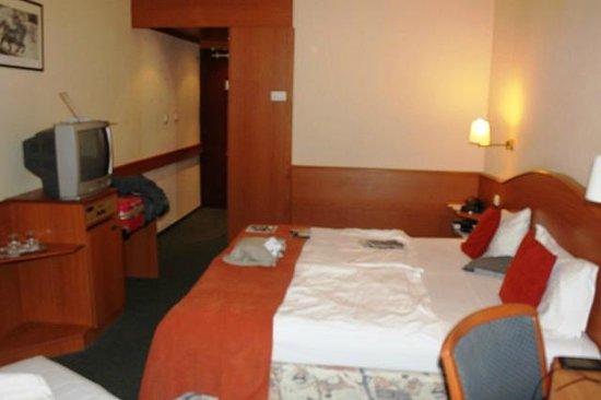 Hotel Orion Várkert: Stanza al 2° piano, doppia con divano uso letto