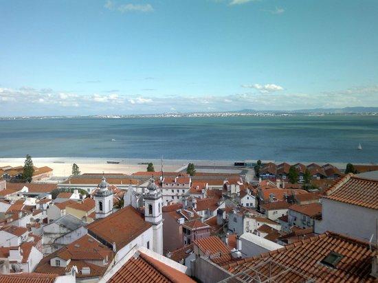 Miradouro de Santa Luzia: Desembocadura del Tajo