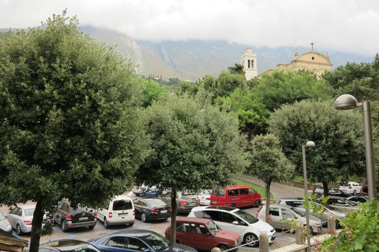 Hotel Alpino: Вид с балкона