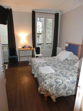 Est Hotel Paris : Zimmer mit Einzelbetten