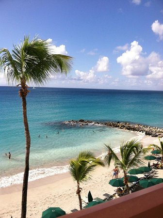 Belair Beach Hotel : View from porch (4th floor)