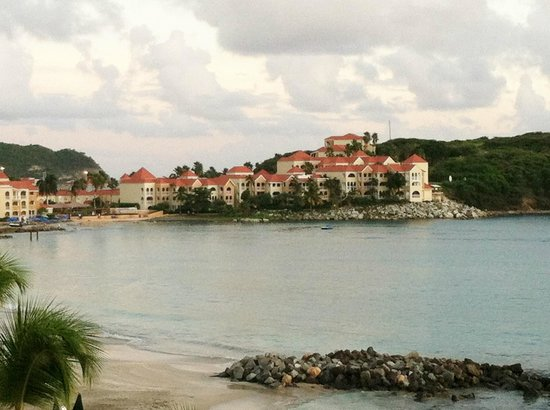 Belair Beach Hotel : Little Bay to the left