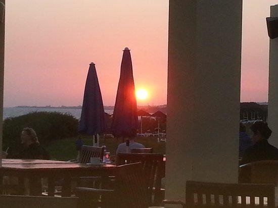 Aldiana Cyprus : Sonnenuntergang von der Beach-Bar