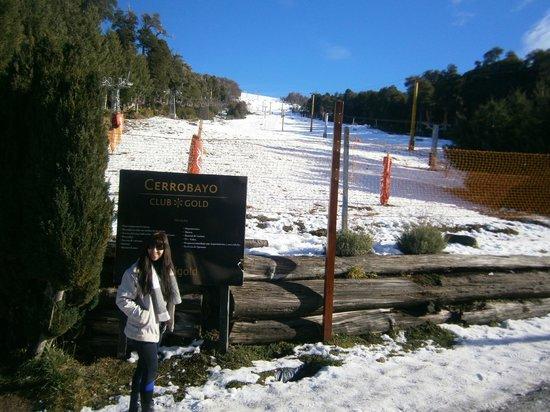 14-Cerro Bayo: pista en la base