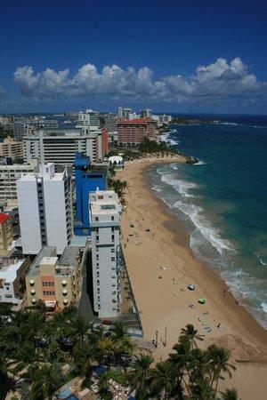 San Juan Marriott Resort & Stellaris Casino: View from Presidential Suite