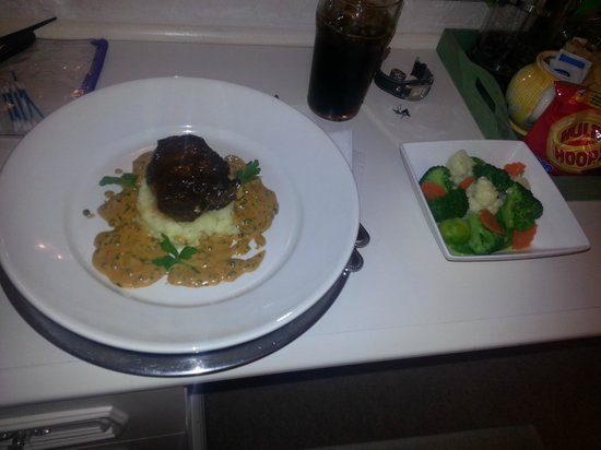 Barratts of Tyn Rhyl: Mouth watering steak on first night