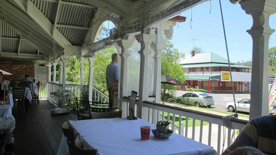 Nash Gallery & Cafe: From the front verandah looking across the street