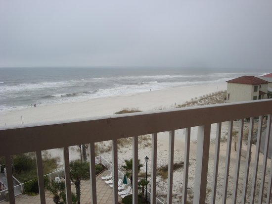 Holiday Inn Express Orange Beach: The View from our balcony