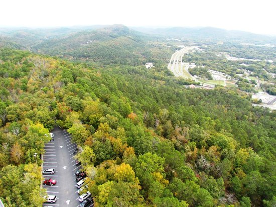 Hot Springs Mountain Tower: Parking...