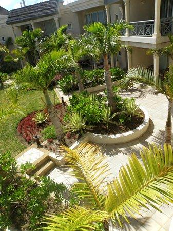 The Residence Mauritius: jardinets privés