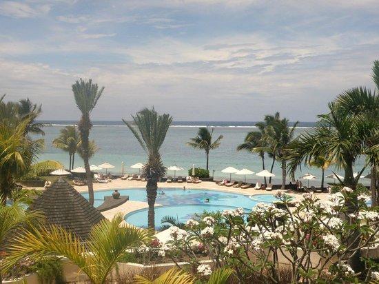 The Residence Mauritius: piscine vue de la chambre