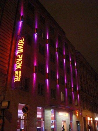 Royal Park Boutique Hotel : Vue de la façade