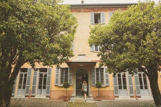 Villa Regina Teodolinda: Facciata della villa