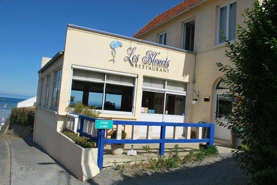 Les Bleuets : vue du restaurant