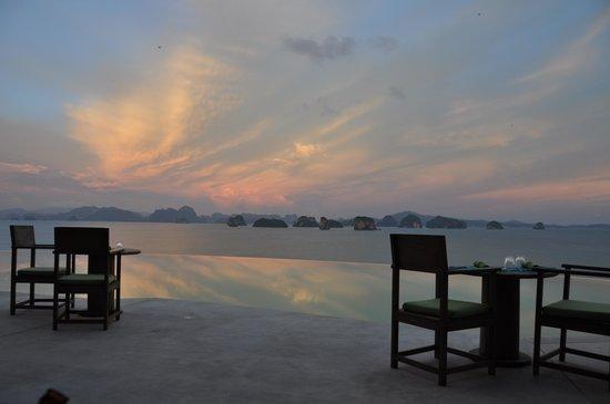 Ko Yao Noi, Thailand: Hilltop Reserve Dinner