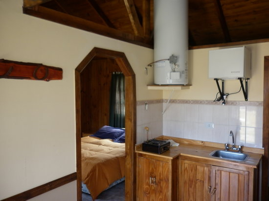 Cabañas Cerro Torre: Cocina Cabaña Tradicional N°4