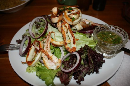 Made in Home : Grilled Calamari