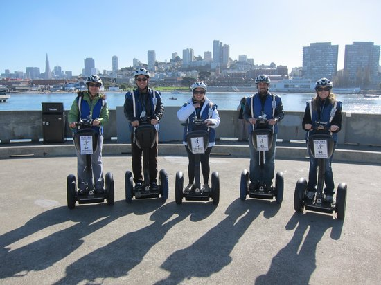 Electric Tour Company Segway Tours: Great View