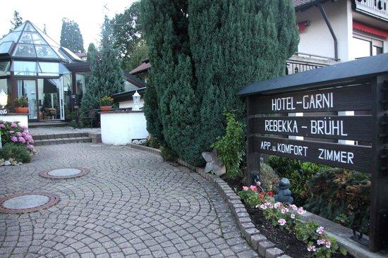 Hotel Rebekka mit Haus am Brühl: WILLKOMMEN