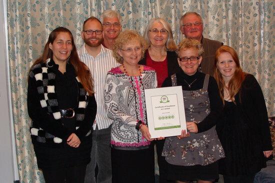 Leisure Inn Hotel : Leisure Inn Team wins trip advisor 2013 certificate of excellence award.  congratulations