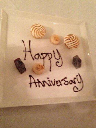 Thirty Six by Nigel Mendham: A nice touch from the chef..