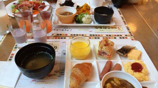 Urayasu Brighton Hotel Tokyobay: 朝ごはん