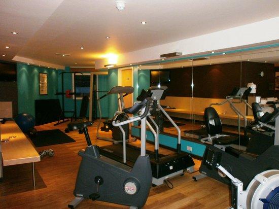 Novotel London Greenwich: Salle de fitness