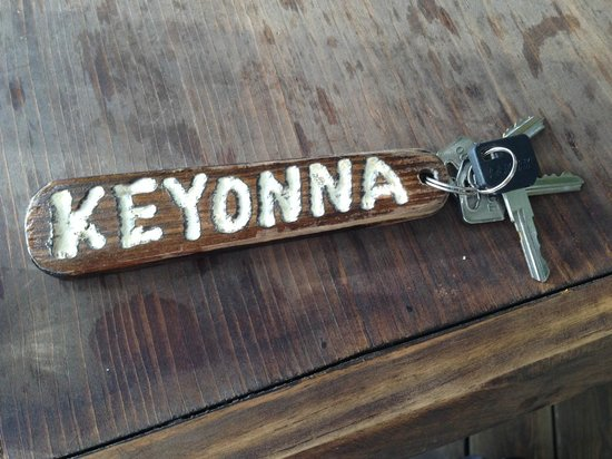 Keyonna Beach Resort Antigua: Room Key