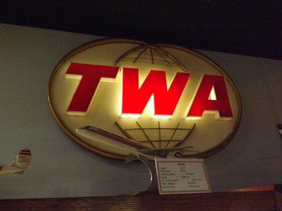 TWA Museum: Inside the hangar