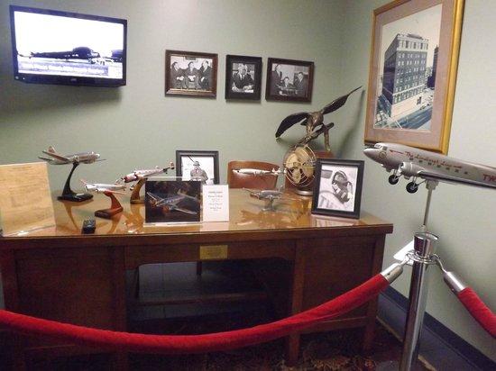 TWA Museum: The President of TWA's desk/office