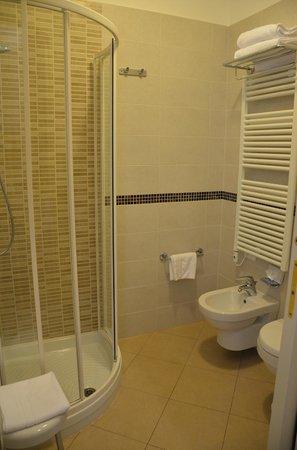 Santa Marina Hotel : Baño