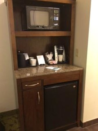 Hilton Garden Inn Boca Raton : Loved the keurig!