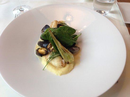 Restaurant Le Murenberg : Filet de sole aux moules de bouchot