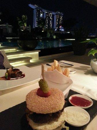 Dolce Vita at Mandarin Oriental: food and view