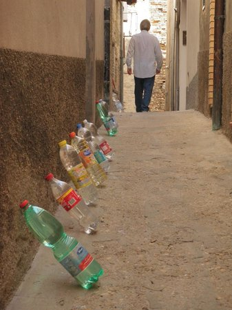 Castello Chiola Hotel : Why the bottles? You'll have to go see for yourself.