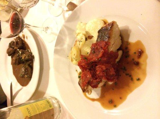 Chez Marcel: kabeljauw met chorizo
