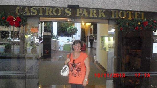 Castro's Park Hotel : Hospedando com tranquilidade.