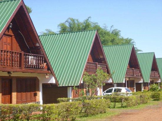 Cabañas El Refugio del Mensu: cabanas panoramica