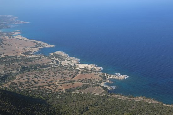 View from Aphrodite trail on Akamas