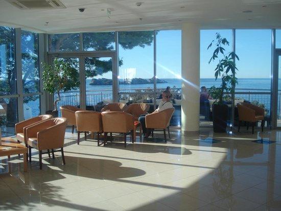 Royal Princess Hotel : Reception Area