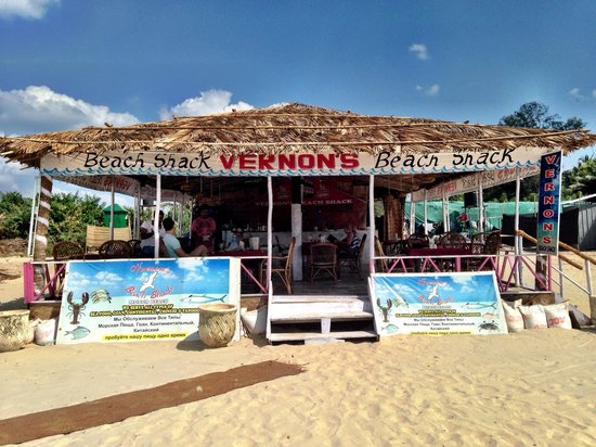 Vernons Beach Shack Lovely Goan On The